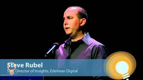 Embedded thumbnail for Steve Rubel on 11 Digital Marketing Trends